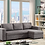 Thumbnail: 9410 - Reversible Sectional Sofa Bed