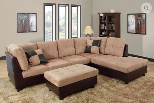 9420 - Reversible Sectional Sofa