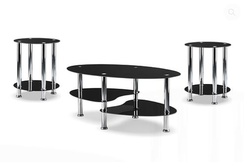 2600/2605 - 3Pc Coffee Table Set