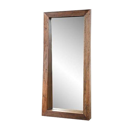 teakwood mirror