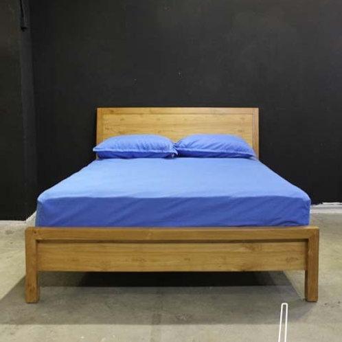 nora teakwood bed frame