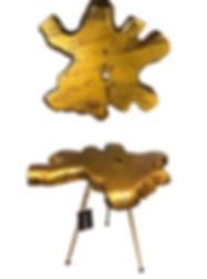 TEAK ROOT SIDE TABLE GOLD.jpg