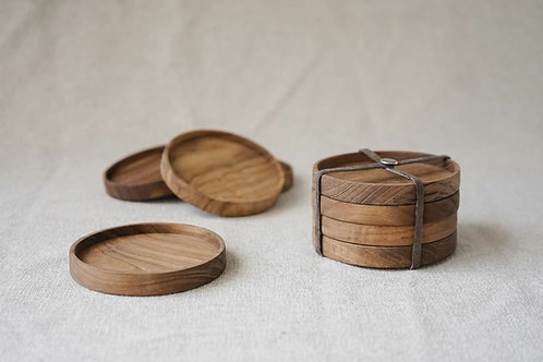 Wooden coaster A