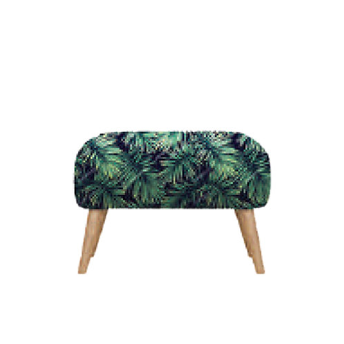 legrest stool fabric