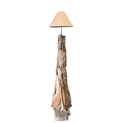 Cone Teak Lamp
