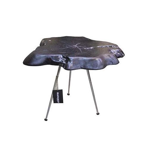 Teakroot side table (Black)
