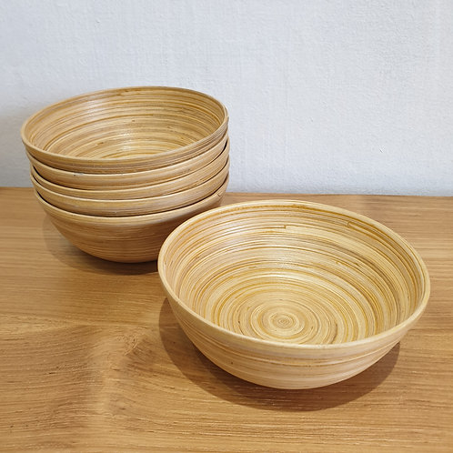 Bamboo bowl M