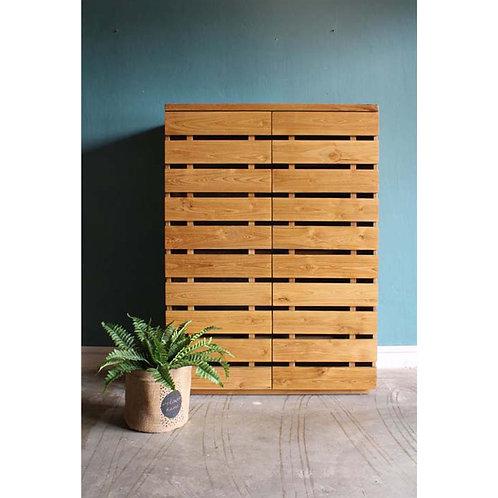 teakwood shoe cabinet