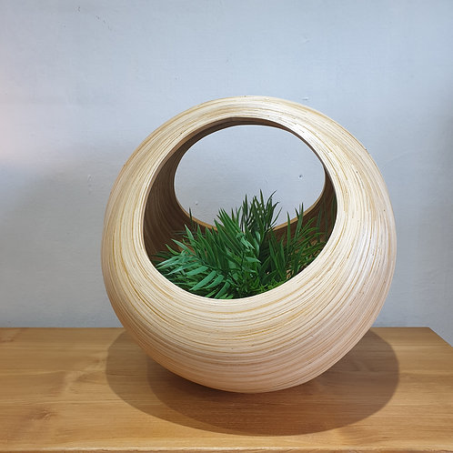 Bamboo Planter Basket