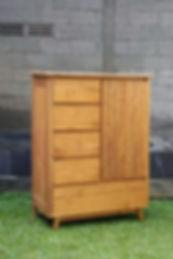 teak chest of drawer