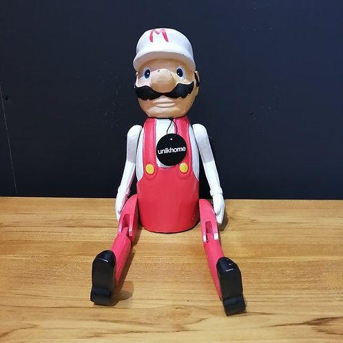 super marion wooden puppet