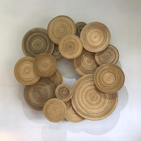 Bamboo Wall Decoration (Round)