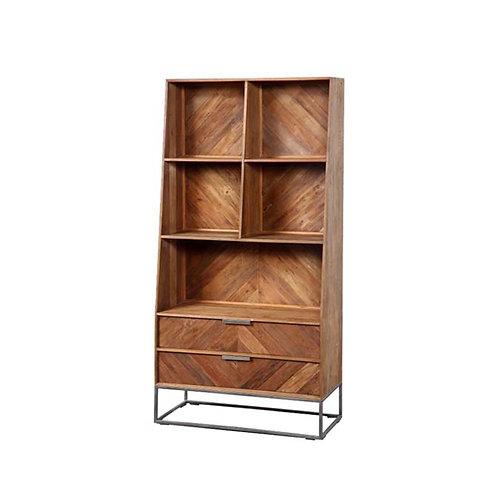 teakwood bookshelf