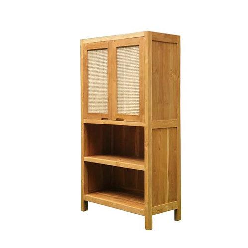 rattan wooden cabinet