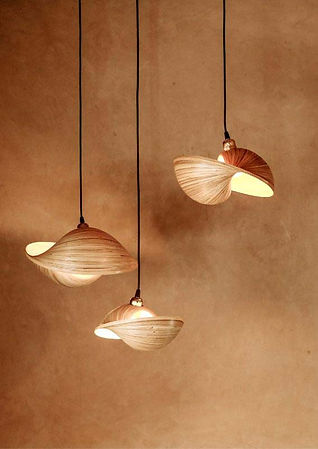 designer bamboo lighting