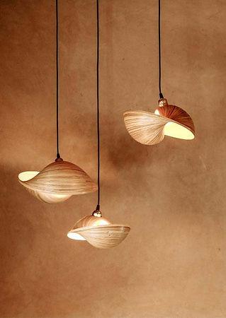 designer bamboo lighting