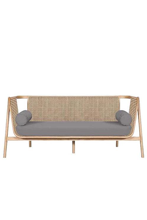designer rattan sofa
