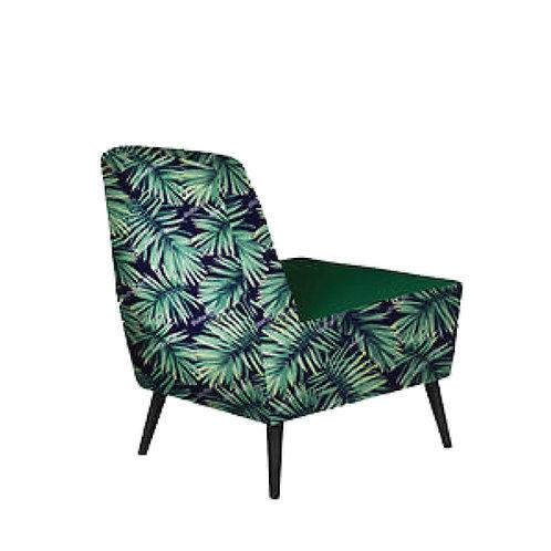 fabric designer armchair