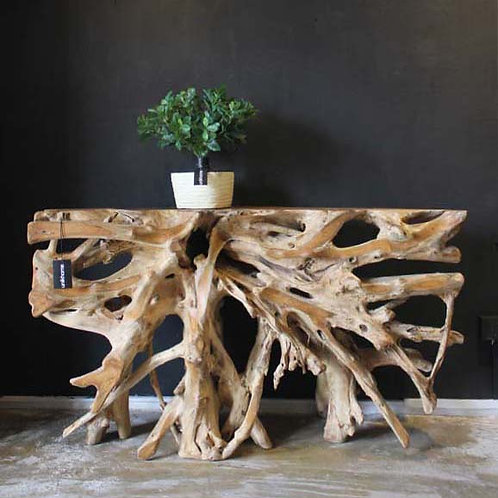 Teakroot Console Table