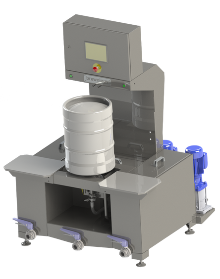 Introducing the Compact Keg Washer Filler