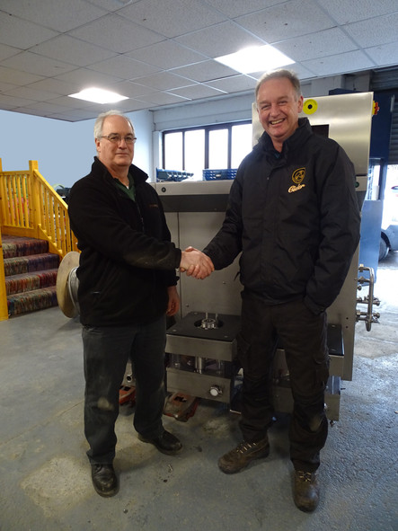 Brewology Produce First Machine in New Premises