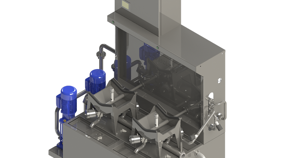 Twin Station Cask Washer