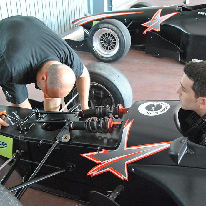 Test Formula BMW Emilio de Villota Motorsport