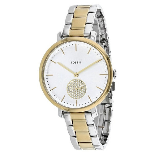 Fossil Jacqueline Stainless Steel Watch 2 tone