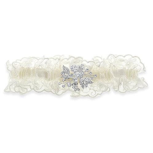 Garter Silver Crystal 120666
