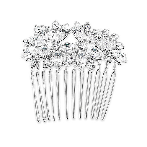 Bridal Silver Hair comb 131677