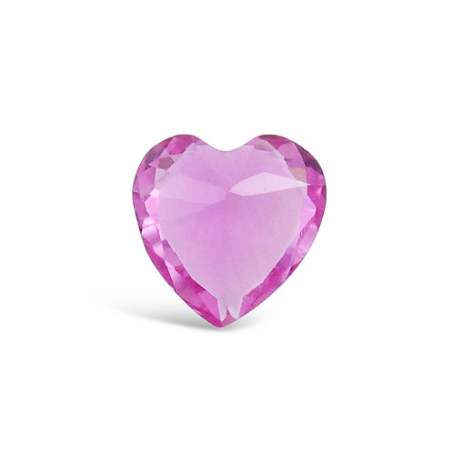 Circle of Love October Birthstones Heart Charm