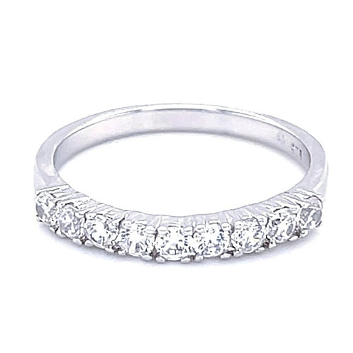 Sterling Silver Cubic Zirconia Ring 132026