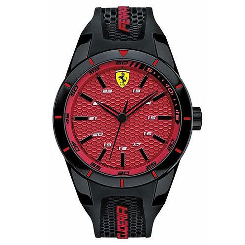 Ferrari Red Rev Mens Watch