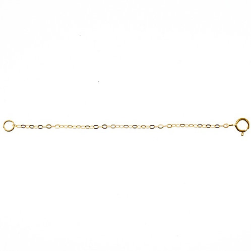 Yellow Gold Plated Sterling Silver Extension 3 inches 142949