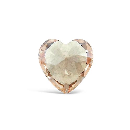 Circle of Love November Birthstones Heart Charm
