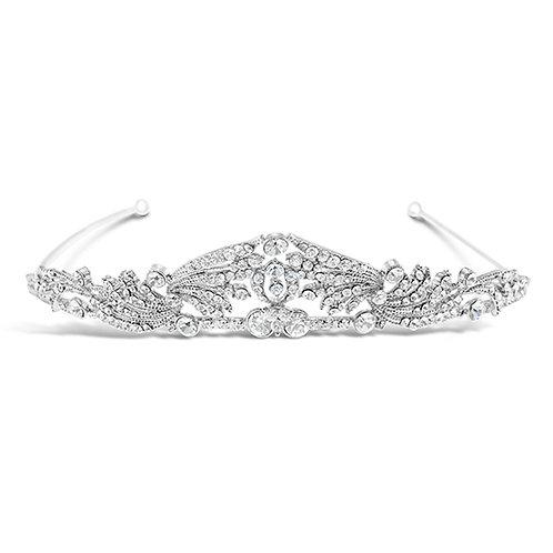 Bridal Silver Vintage Tiara 120673