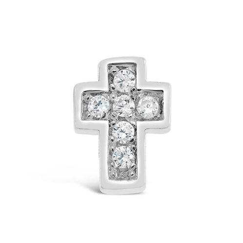 Circle of Love Cross Charm
