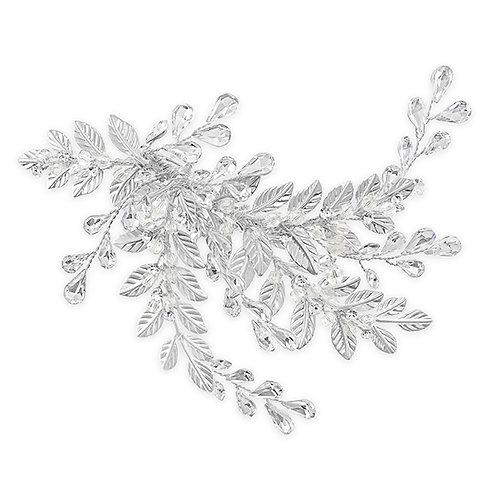 Bridal Silver Hair Clip 131863
