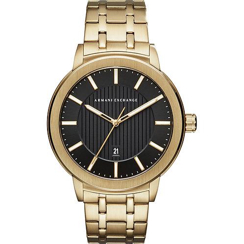 Armani Exchange Men Gold with Black Dial 133146