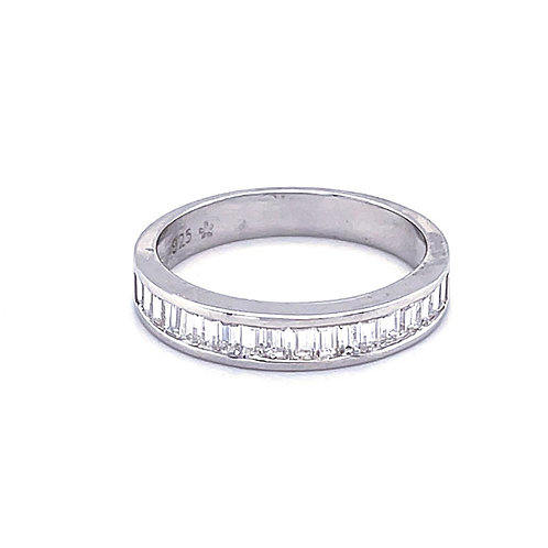 Sterling Silver Cubic Zirconia Ring 129405