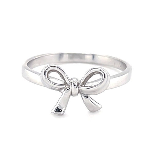Sterling Silver  Bow Ring 114600
