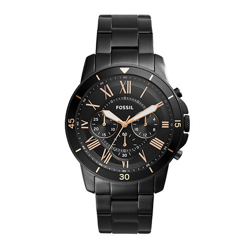 Fossil Grant Sport Stainless Steel Mens Watch