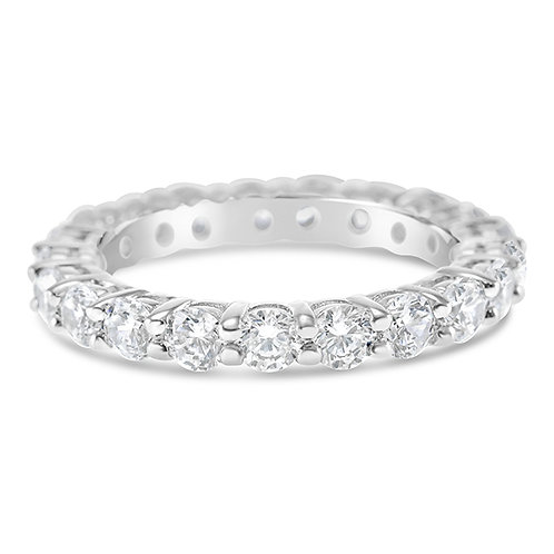 Sterling Silver Cubic Zirconia Ring 131755
