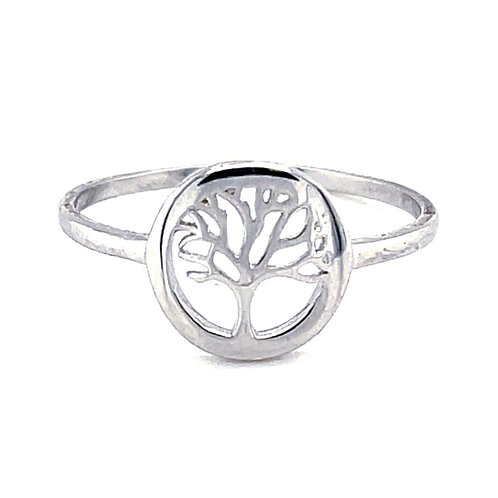Sterling Silver Tree of Life Ring 131915