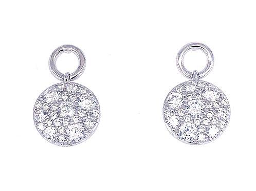 Sterling Silver Cubic Zirconia Earrings 132866