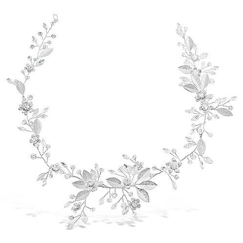 Bridal Silver Hair Vine 131855