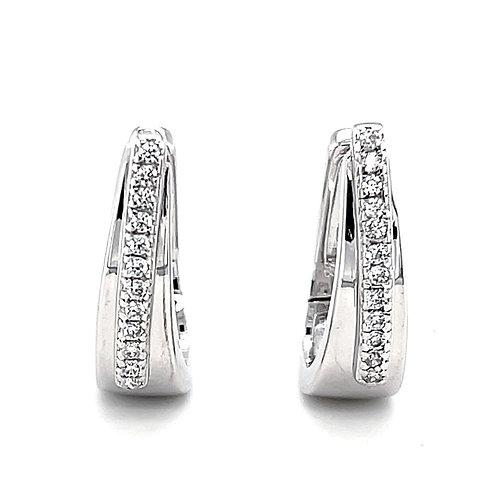 Sterling Silver Cubic Zirconia Earrings 131162
