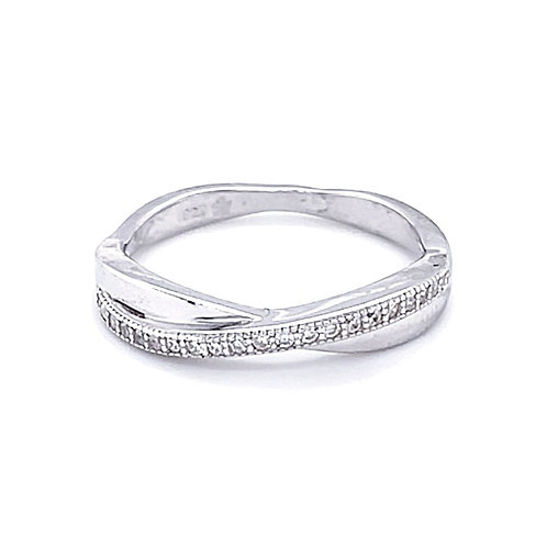 Sterling Silver Cubic Zirconia Ring 124863