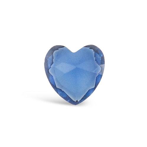 Circle of Love September Birthstones Heart Charm