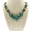 Thumbnail: Fashion Crystal Necklace Earrings Set Green 140470